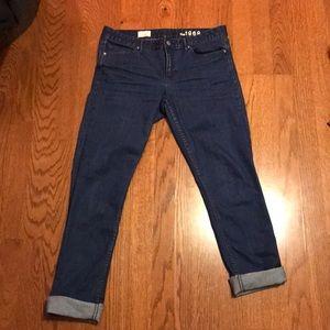 Size 30 The Gap skinny always skinny cuffed jeans